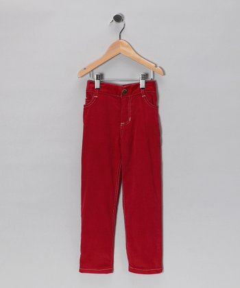 Red Skinny Pants - Infant, Toddler & Boys