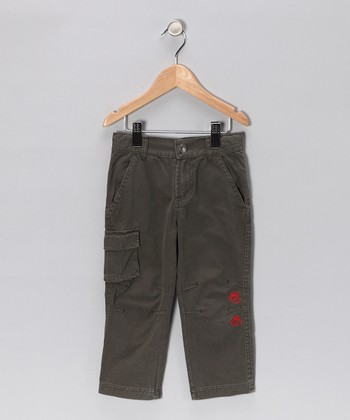 Charcoal Skinny Cargo Pants - Infant, Toddler & Boys