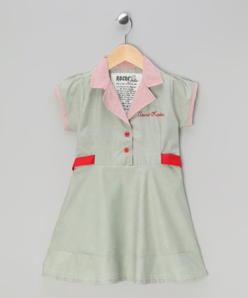 Peppermint Green Anna Karin Dress - Infant, Toddler & Girls
