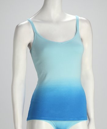 Deep Blue Sea Dip-Dye Cabana Camisole - Women