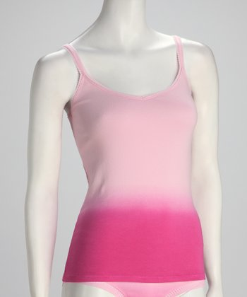 Strawberry Margarita Dip-Dye Cabana Camisole - Women
