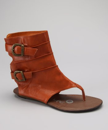 Brown Jey Gladiator Sandal