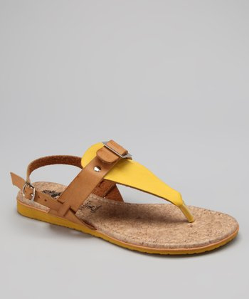 Yellow Nelly Sandal