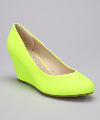 Yellow Vica Wedge