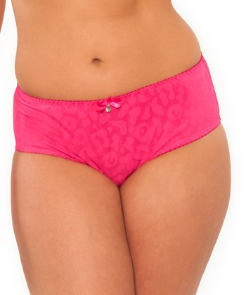 Raspberry Leopard Smoothie Hipster - Women & Plus