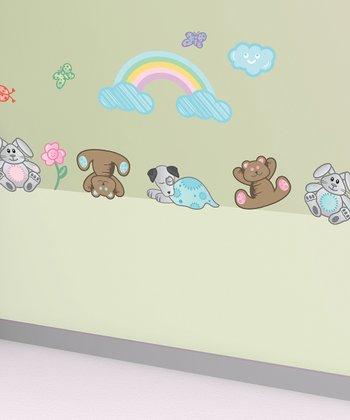 Rainbow Wall Decal Set