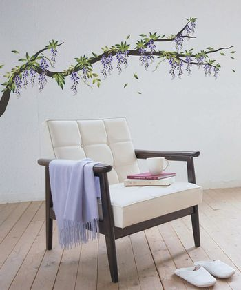 Wisteria Wall Decal Set