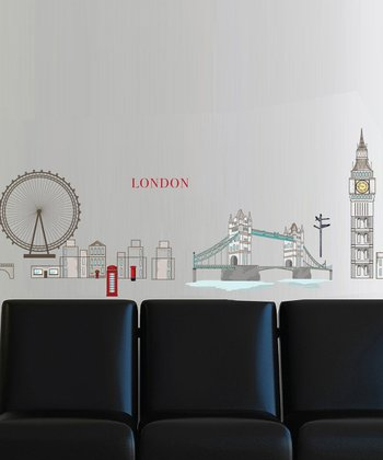 London Wall Decal Set