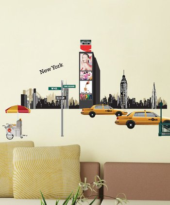 I Love New York Wall Decal Set
