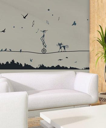 Tightrope Wall Decal Set