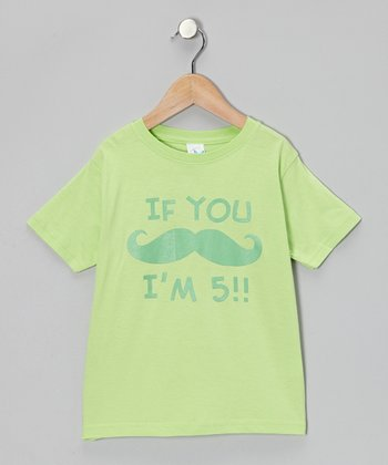 Apple 'I'm 5' Tee - Toddler & Kids