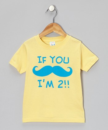 Butter 'I'm 2' Tee - Infant & Toddler