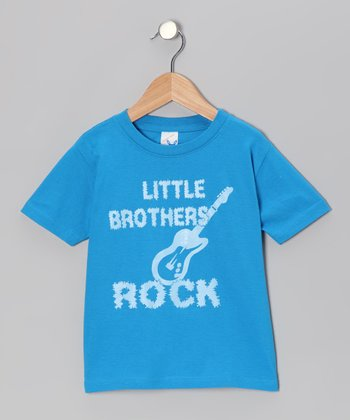 Cobalt 'Little Brothers Rock' Tee - Infant, Toddler & Boys