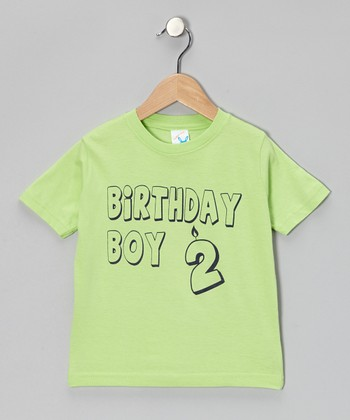 Key Lime 'Birthday Boy 2' Tee - Infant & Toddler