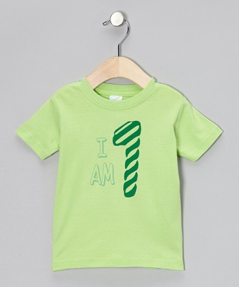 Key Lime 'I Am 1' Tee - Infant & Toddler
