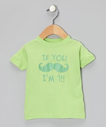 Key Lime 'I'm 1' Tee - Infant & Toddler