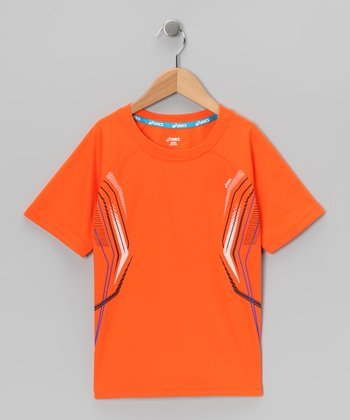 Red Orange Airborne Tee
