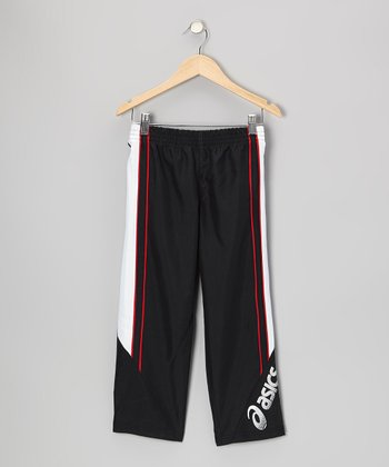 Black Playoff Track Pants - Boys