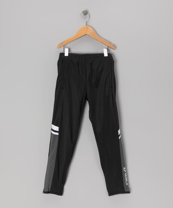 Black Striker Track Pants