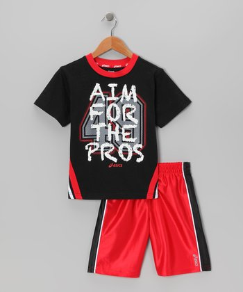 True Red Legends Tee & Shorts - Boys