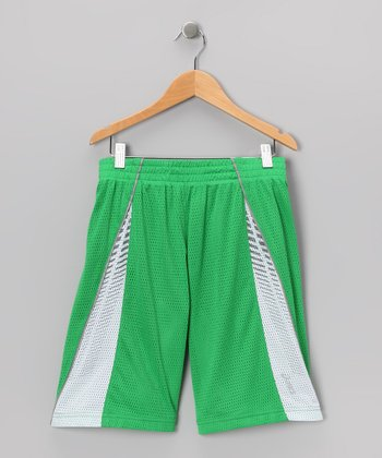 Fern Green Power Shorts