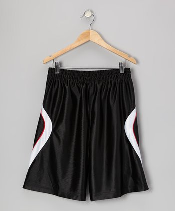 Black 2-in-1 Shorts