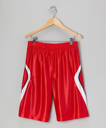 True Red 2-in-1 Shorts