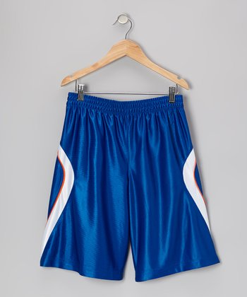 Blue 2-in-1 Shorts