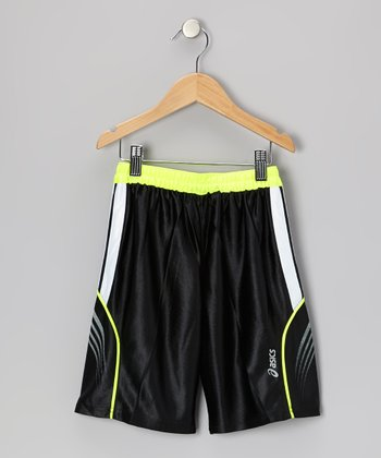 Black Performance Layup Shorts
