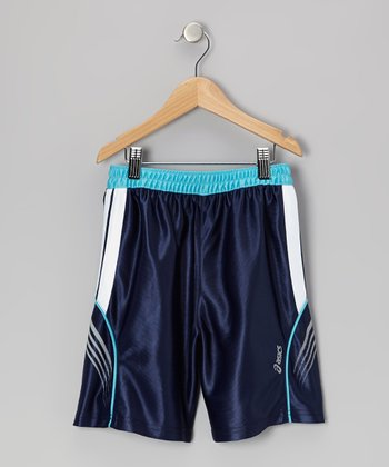 Blue Performance Endurance Shorts - Boys