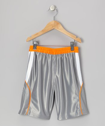 Gray Performance Endurance Shorts