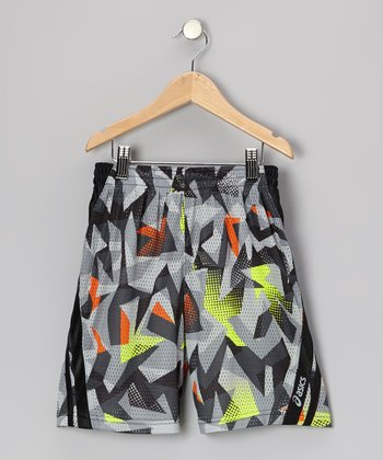 Black Sublimation Performance Court Shorts
