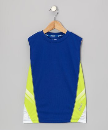Blue Performance Scrimmage Tank