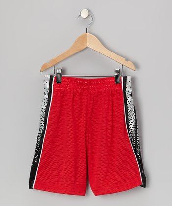 Red Performance Layup Shorts