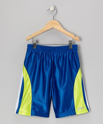 Blue Performance Sprint Shorts - Boys