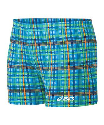 Teal & Orange Plaid Shorts - Women