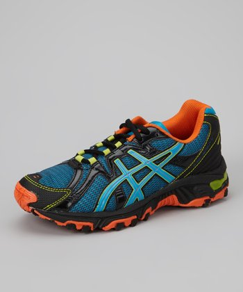 Black & Orange Gel-Scout GS Running Shoe