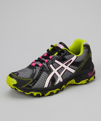 Lightning & Lime GEL-Scout GS Trail Running Shoe - Girls