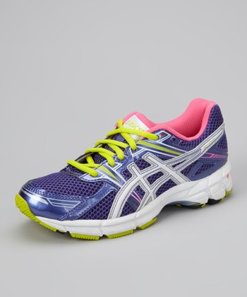 Grape & Hot Pink GT-1000 GS Running Shoe - Girls