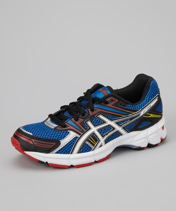 Royal Blue & Red GT-1000 GS Running Shoe - Boys