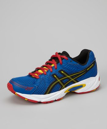 Royal Blue & Red GEL-Excite GS Running Shoe - Boys