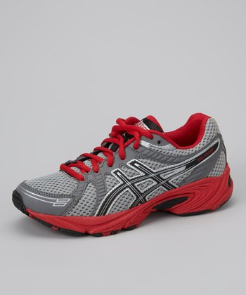 Lightning & Red GEL-Excite GS Running Shoe - Boys