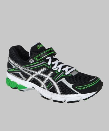 Black & Electric Apple GT-1000 PS Running Shoe