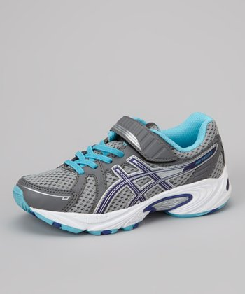 Lightning & Turquoise Pre Excite PS Running Shoe - Girls