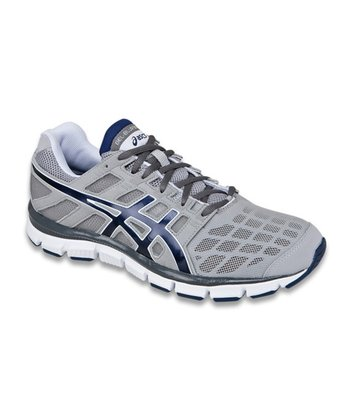 Silver & Navy GEL-Blur33 TR Running Shoe - Men