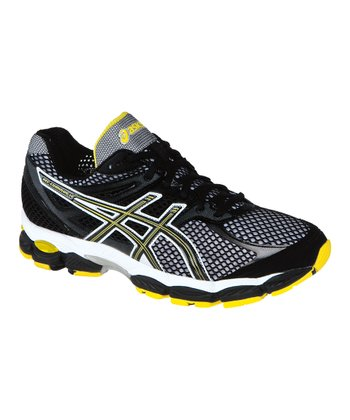Onyx & Yellow GEL-Cumulus14 Running Shoe - Men