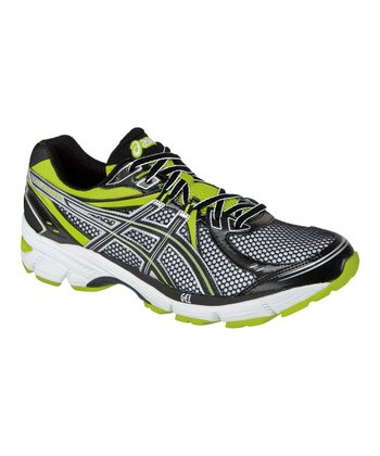 Black & Lime GEL-Equation6 Running Shoe - Men