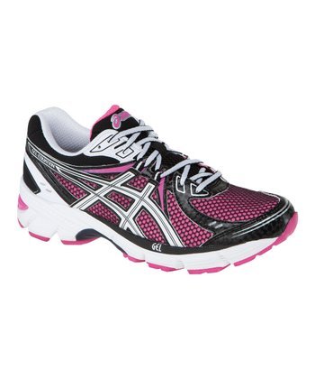 Hot Pink & Black GEL-Equation6 Running Shoe - Women