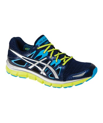 Navy & Electric Blue GEL-Blur33 2.0 Running Shoe - Men
