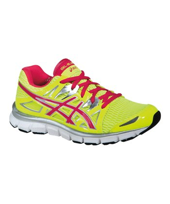 Flash Yellow & Hot Punch GEL-Blur 33 2.0 Running Shoe